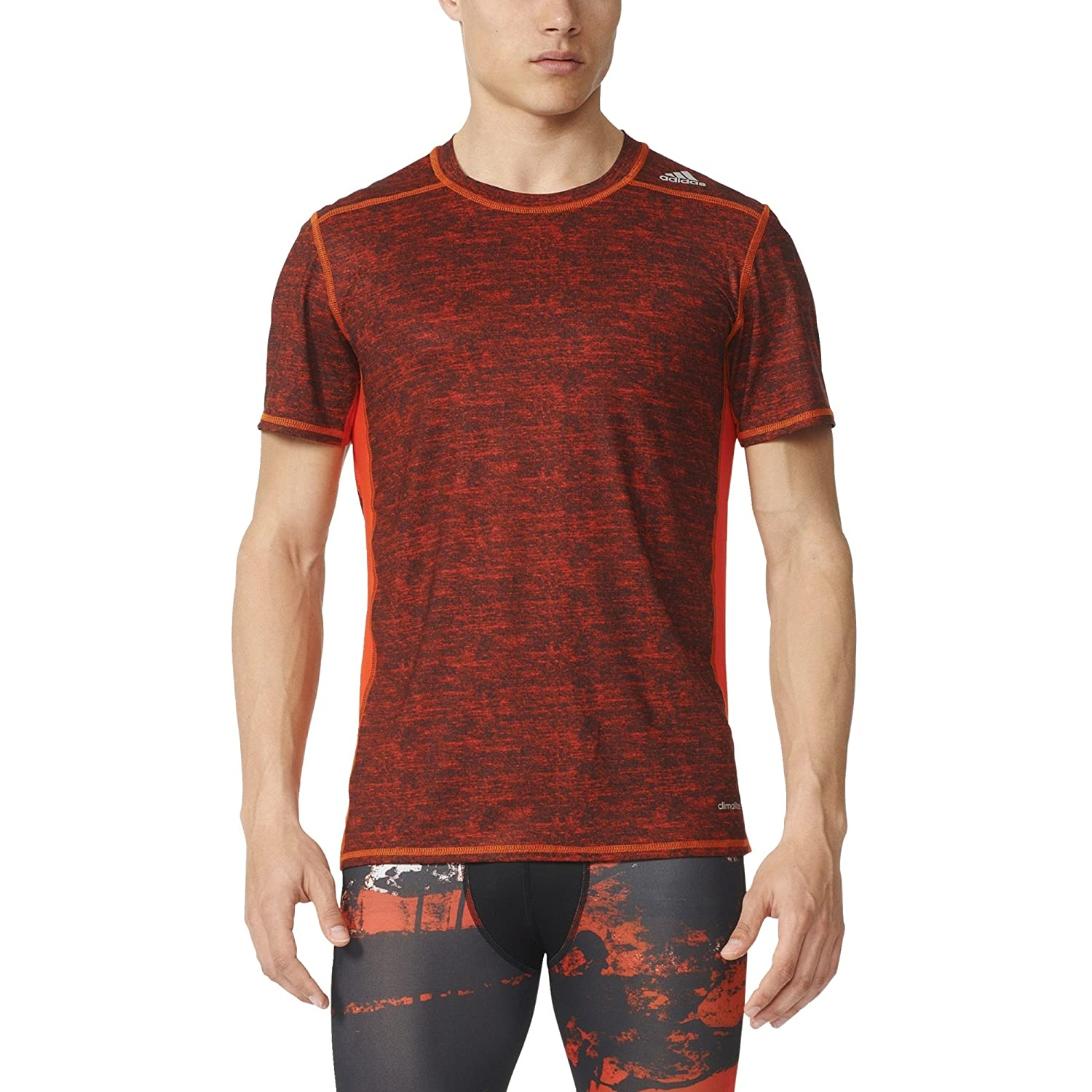adidas Men's Techfit Base Fitted Short Sleeve Tee