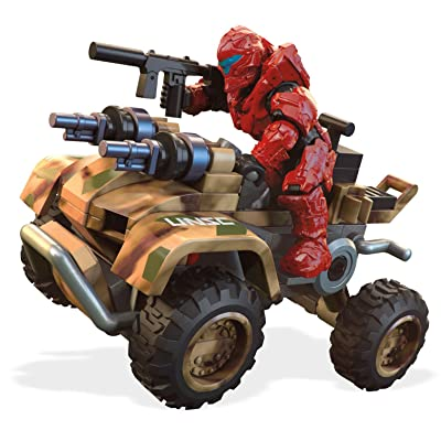 Mega Construx Halo UNSC Woodland Gungoose: Toys & Games