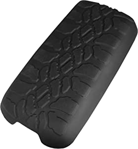 Boomerang Tire Tread Armpad for 1997-2001 Jeep Cherokee XJ - Center Console Armrest Cover