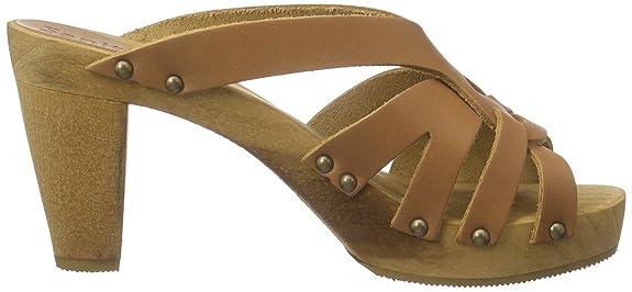 Sanita Women's Faline Plateau Sandal Open Toe Sandals Brown Size: 5, 5-6:  Amazon.co.uk: Shoes & Bags