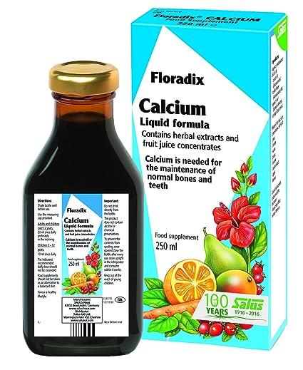 Floradix Calcium lÃquido Mineral Supplement, 250ml