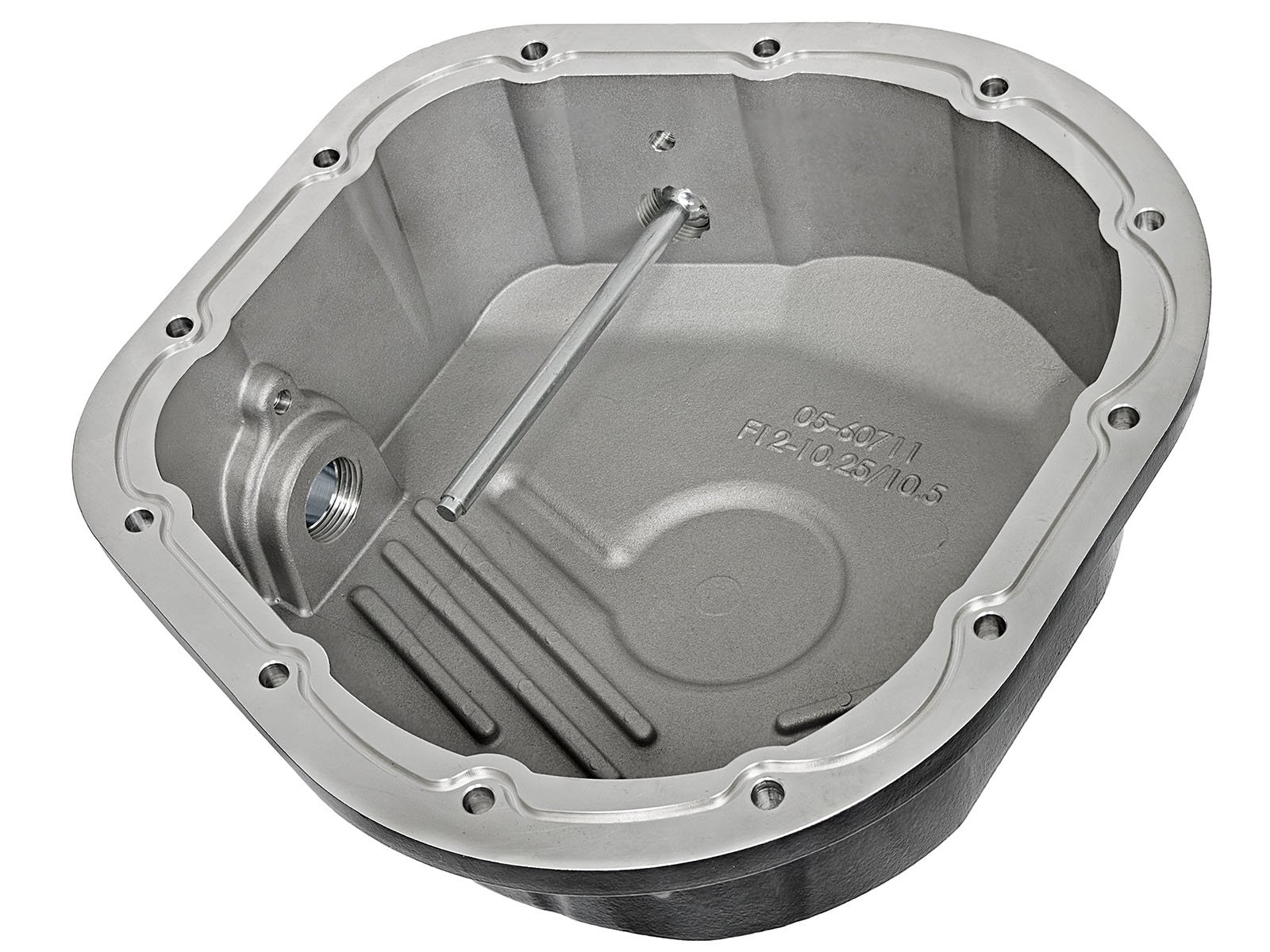 aFe Power 46-70022-WL Pro Series Machined Rear Differential Cover with Gear Oil by aFe Power (Image #3)
