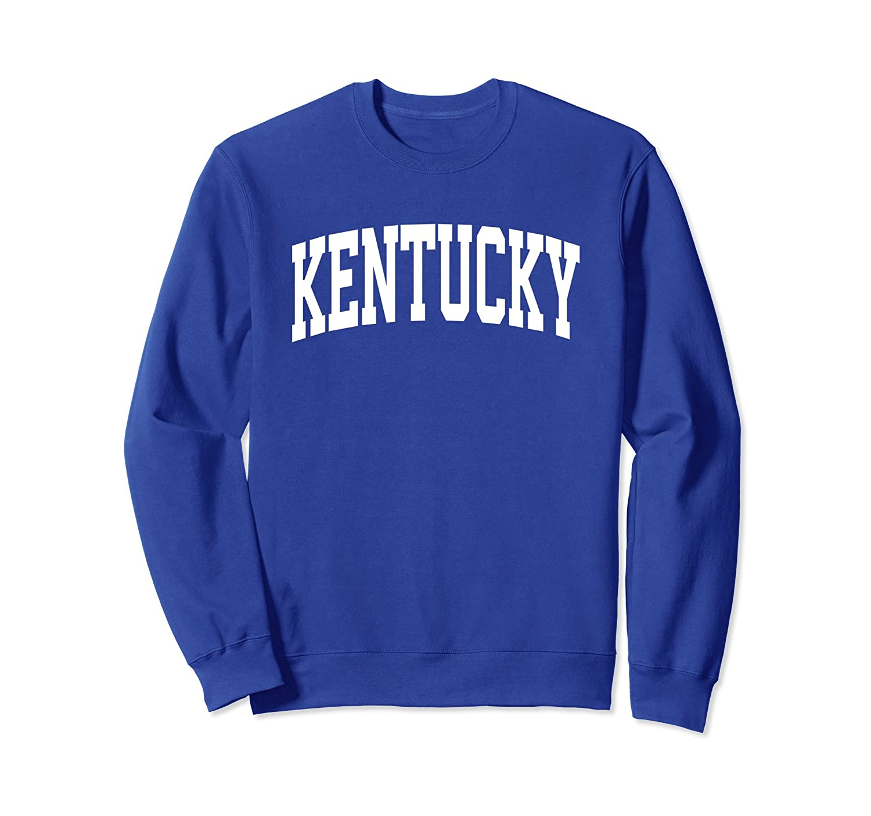 Kentucky Crewneck Sweatshirt Sports College Style State Gift-alottee gift
