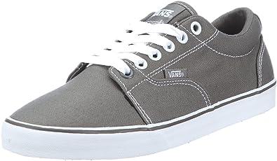 07e0cecd64 Vans Kress grey white Trainers Womens Gray Grau (grey white) Size ...