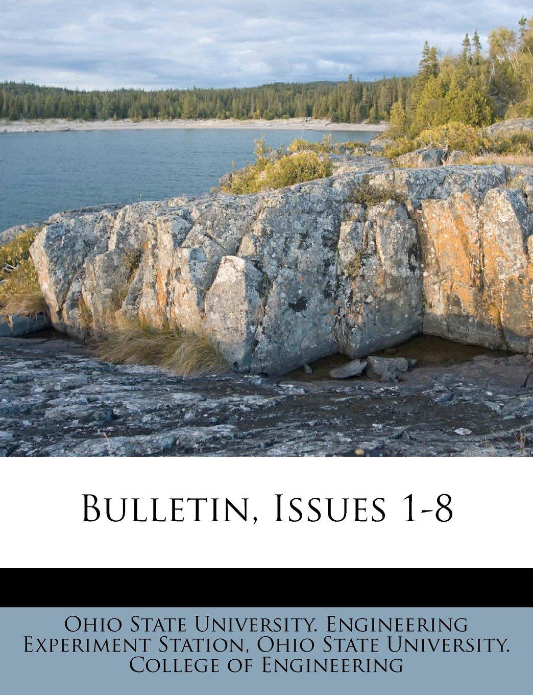 Download Bulletin, Issues 1-8 pdf epub