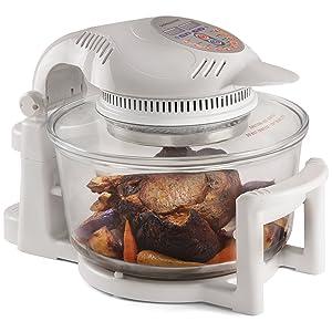 Andrew James 12L White Digital 1400W Halogen Oven Cooker