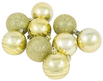 Boules Or Boules Doreéboules De Noël Dorées Tube De 9 Boules Noél