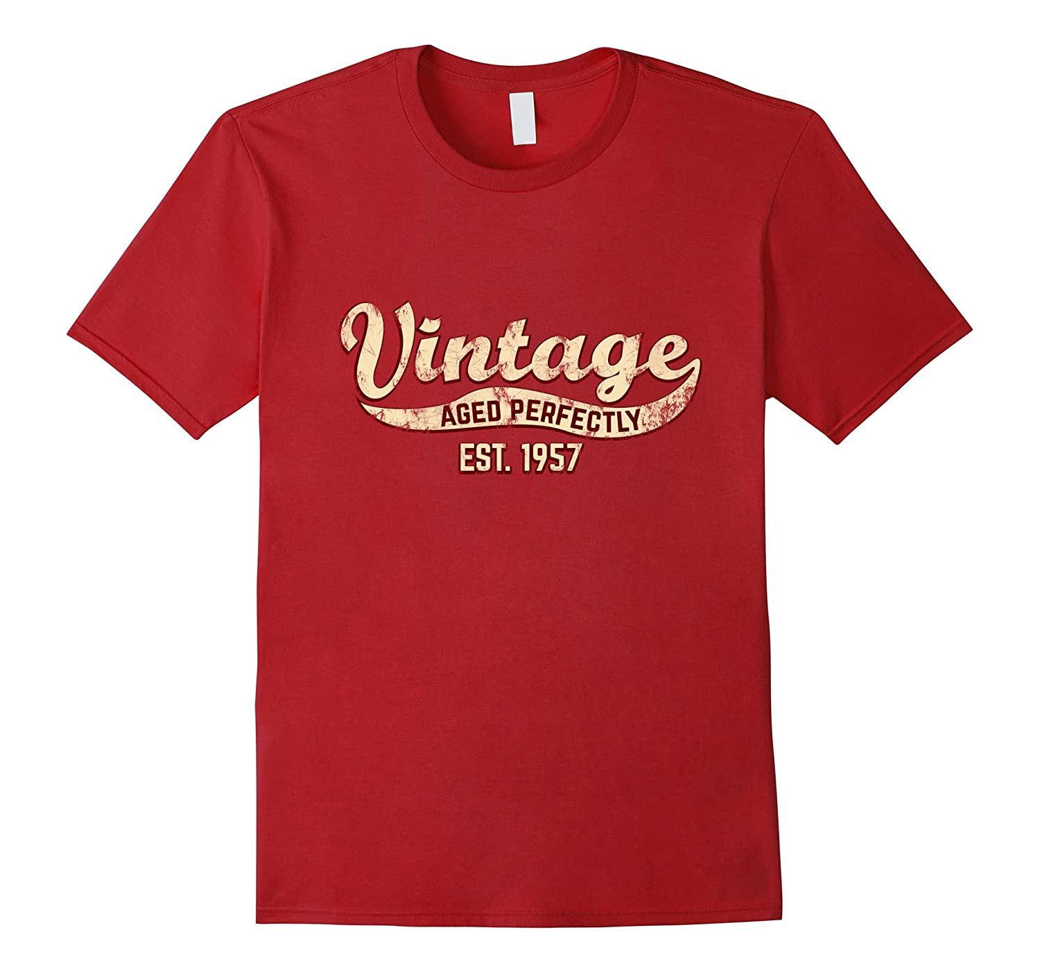 Vintage Est 1957 T Shirt 60th Birthday Gift 60 Yrs Old B Day