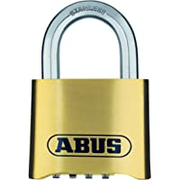 ABUS Cijferslot 180IB/50 - hangslot van messing - weerbestendig - met individueel instelbare cijfercode - 25543 - niveau…