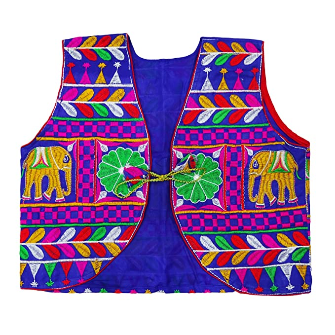 PEEGLI India Kutch Bordado Mujeres Chaqueta Bordada Banjara ...
