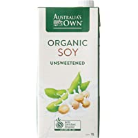 Australia's Own Unsweetened Soy Milk, 1L (Pack of 8)