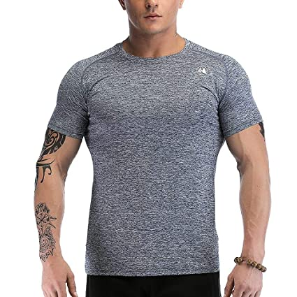 Image Unavailable. Image not available for. Color  Men s Quick Dry Sport T- Shirts ... 29b276db505