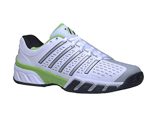 Amazon.com | K-Swiss-Men`s Bigshot 2.5 Tennis Shoes-(888758225452) White | Tennis & Racquet Sports