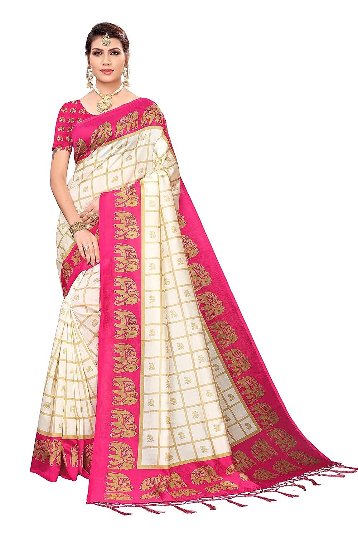 Silk Blouse Piece Saree