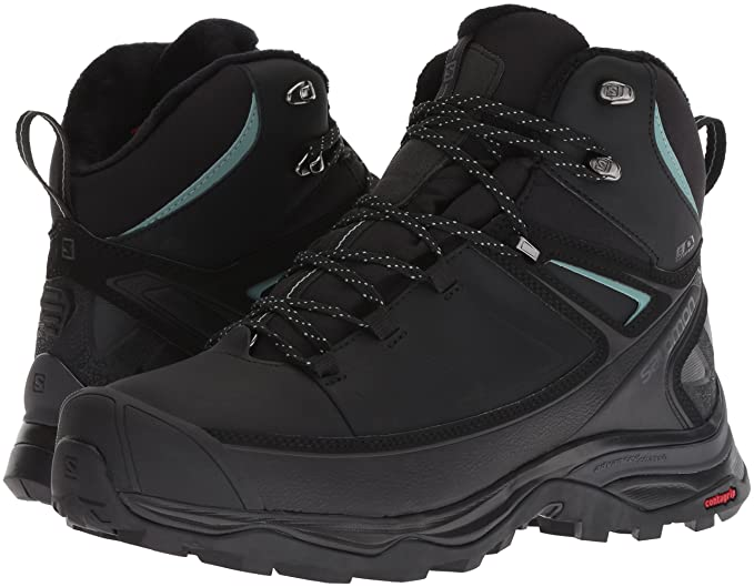 SALOMON X Ultra Mid CS WP Winter Shoes Women BlackPhantom