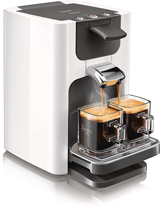 Philips Senseo Quadrante - Cafetera monodosis, color blanco (importada): Amazon.es: Hogar