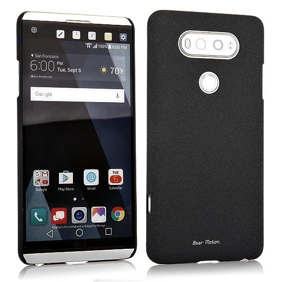 super cute 9d831 e1f62 Slim Case for LG V20 Case - Bear Motion Premium Back Cover for LG V20 -  Sandy (Black)