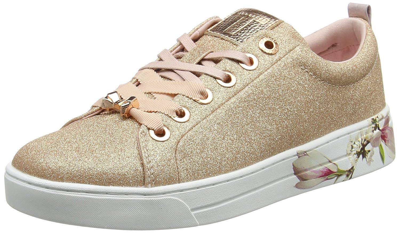 Ted Baker Kelleit, Zapatillas para Mujer 36 EU|Dorado (Rose Gold Harmony #Ffd700)