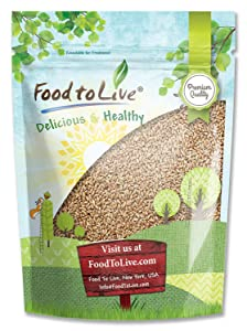 Hard Red Wheat Berries/Wheatgrass by Food to Live (Seeds for Sprouting, Bulk) — 4 Pounds