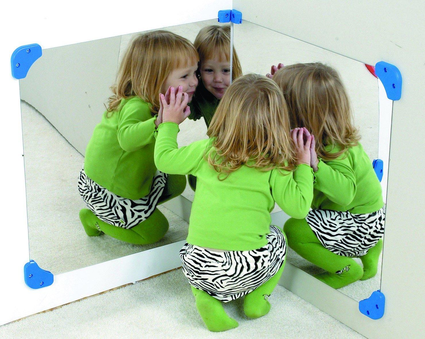 Children s Factory Pair of 24 Corner Mirror