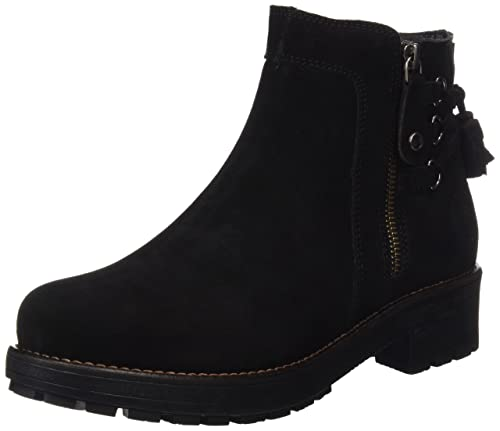 Coronel Tapioca Serraje Traseras, Botines para Mujer, Negro (Black), 37 EU: Amazon.es: Zapatos y complementos