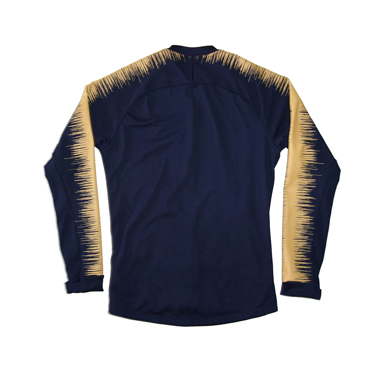 Amazon.com  Men s Official 2018-2019 Pumas UNAM Anthem Jacket 920059-452  Navy (Small)  Clothing 9bfcc76be