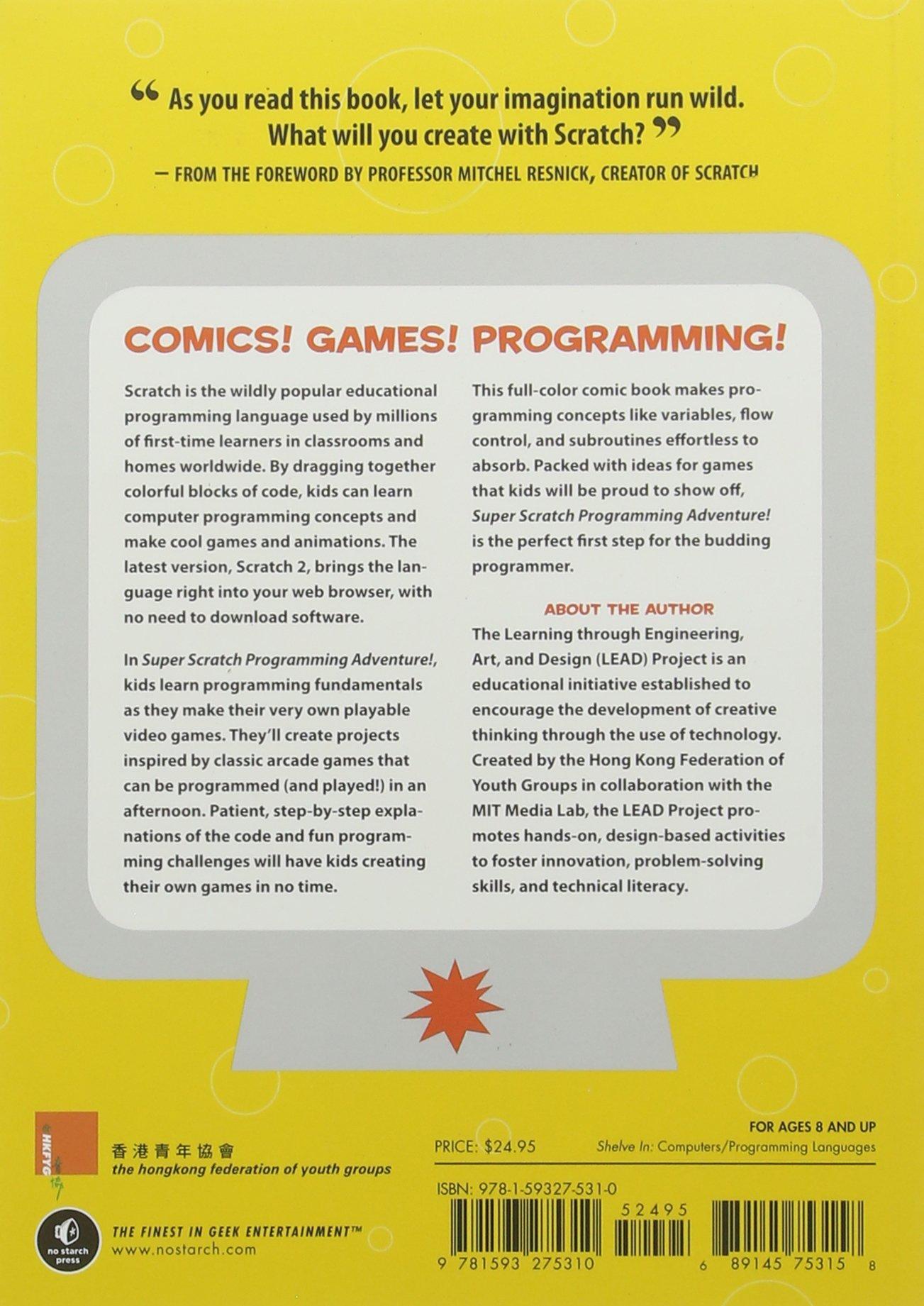 Amazon com: Super Scratch Programming Adventure! (Covers
