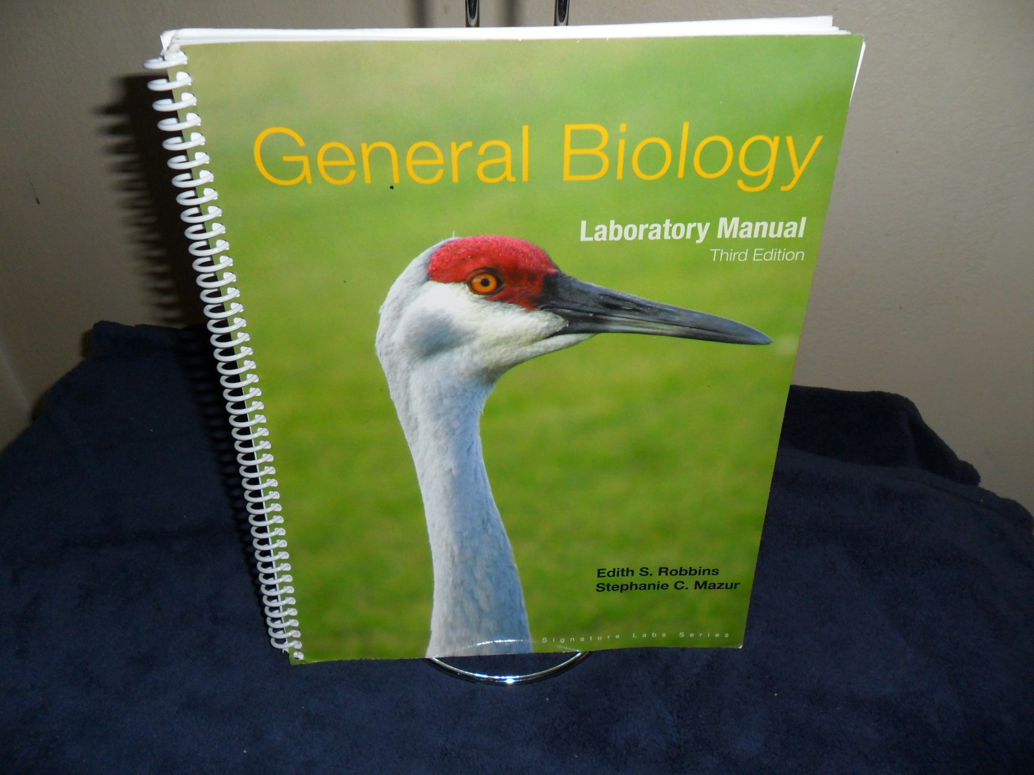 General Biology Laboratory Manual Third 3rd Edition (Signature Labs  Series): 9780495831099: Amazon.com: Books