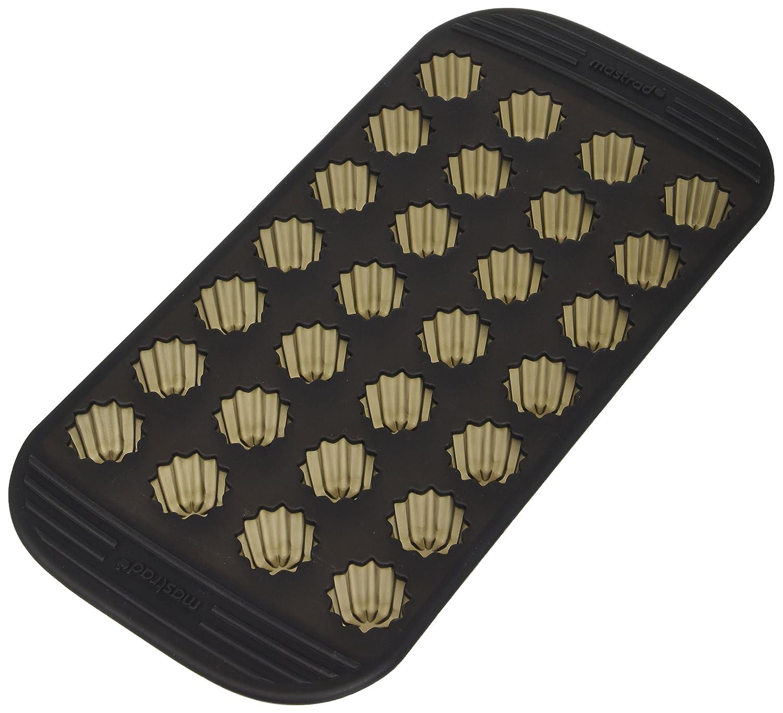 Moule 9 Madeleines 100/% Silicone Premium MASTRAD Gris Fum/é Anti-Adh/ésif Maintien Parfait