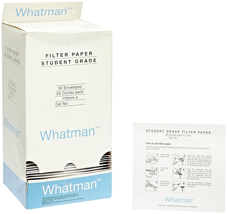 whatman 1093 111 quantitative filter paper circles 10 micron 7 s
