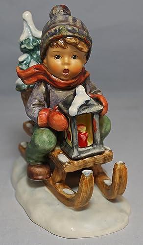 Hummel Goebel 396 Ride Into Christmas Figurine