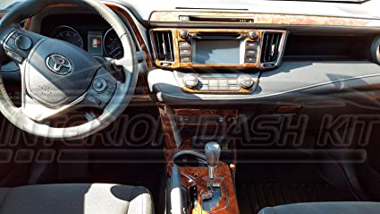 Amazon Com Toyota Rav 4 Rav4 Rav 4 Le Xle Limited Interior Burl
