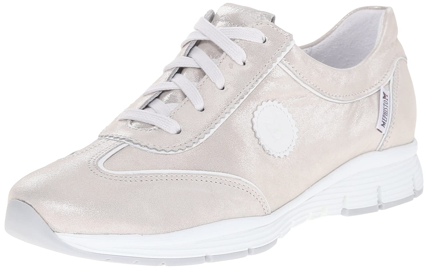 Mephisto Women's Yael Oxford B011DHWQBE 9.5 B(M) US|Light Grey Liz/White Smooth