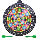 Party Propz Magnetic Dart Board with 2 Darts (Multicolour)