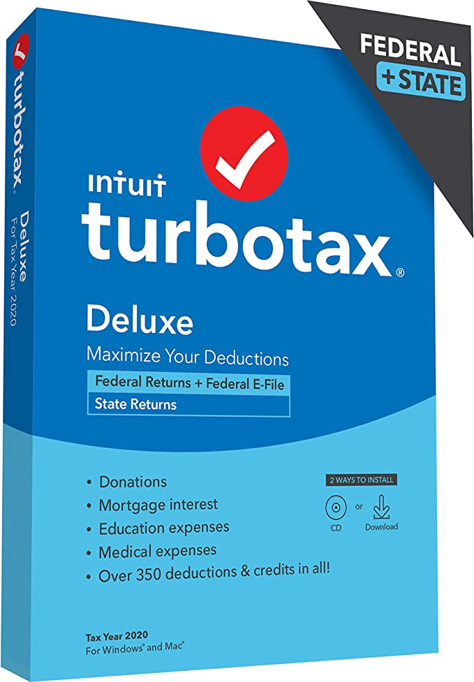TurboTax Deluxe 2020 Discount Coupon Code