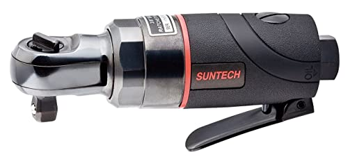 SUNTECH SM-33-3015 Air Ratchet Wrench with Composite Type, Black, 3 8