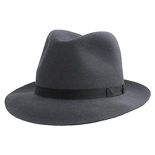 8a82c9b5668 Borsalino Trilby Hat-62 at Amazon Men s Clothing store  Fedoras