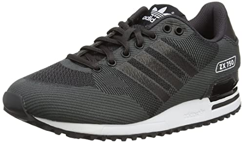 cheap for discount d0894 8aa69 Adidas Zx 750 Wv Scarpe Low-Top, Uomo, Nero (Black (Shadow