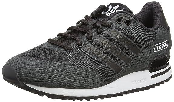huge discount e2417 82c4d Adidas Zx 750 Wv Scarpe Low-Top, Uomo, Nero (Black (Shadow Black  S16 St Core Black Ftwr White)), 40 2 3 EU  Amazon.it  Scarpe e borse
