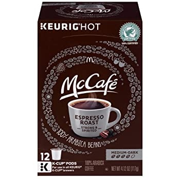 McCafe Medium Dark Espresso Roast Espresso K Cup