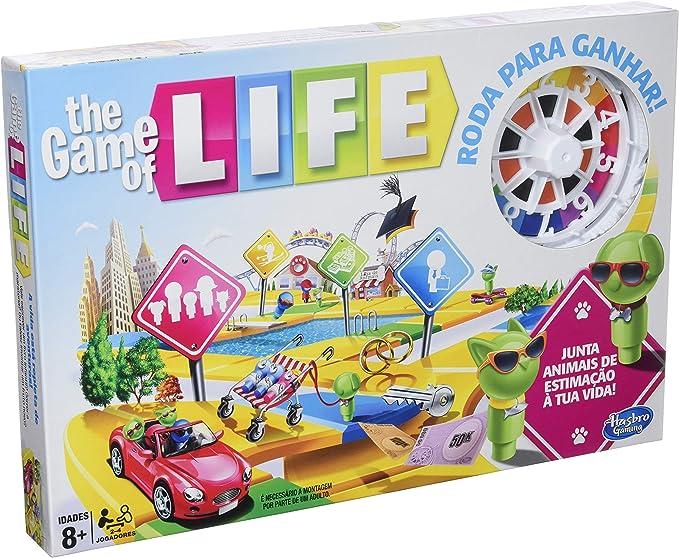 Hasbro Gaming - Clasico Game of Life Junior (B0654SC5): Amazon.es ...