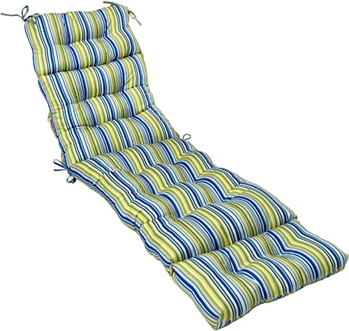 Greendale Home Fashions IC4804-Vivid Indoor/Outdoor Chaise Lounger Cushion