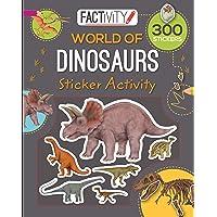 Factivity Balloon Sticker Activity Book Dinosaurs