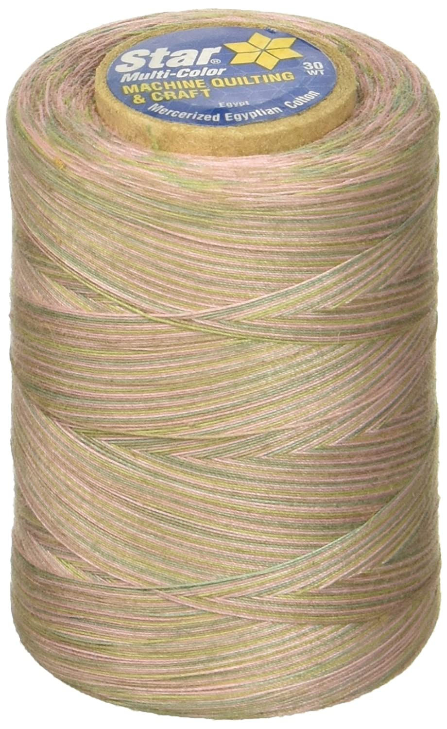 Baby Pastels YLI Corporation Coats Thread and Zippers Star Mercerized Cotton Thread Variegated