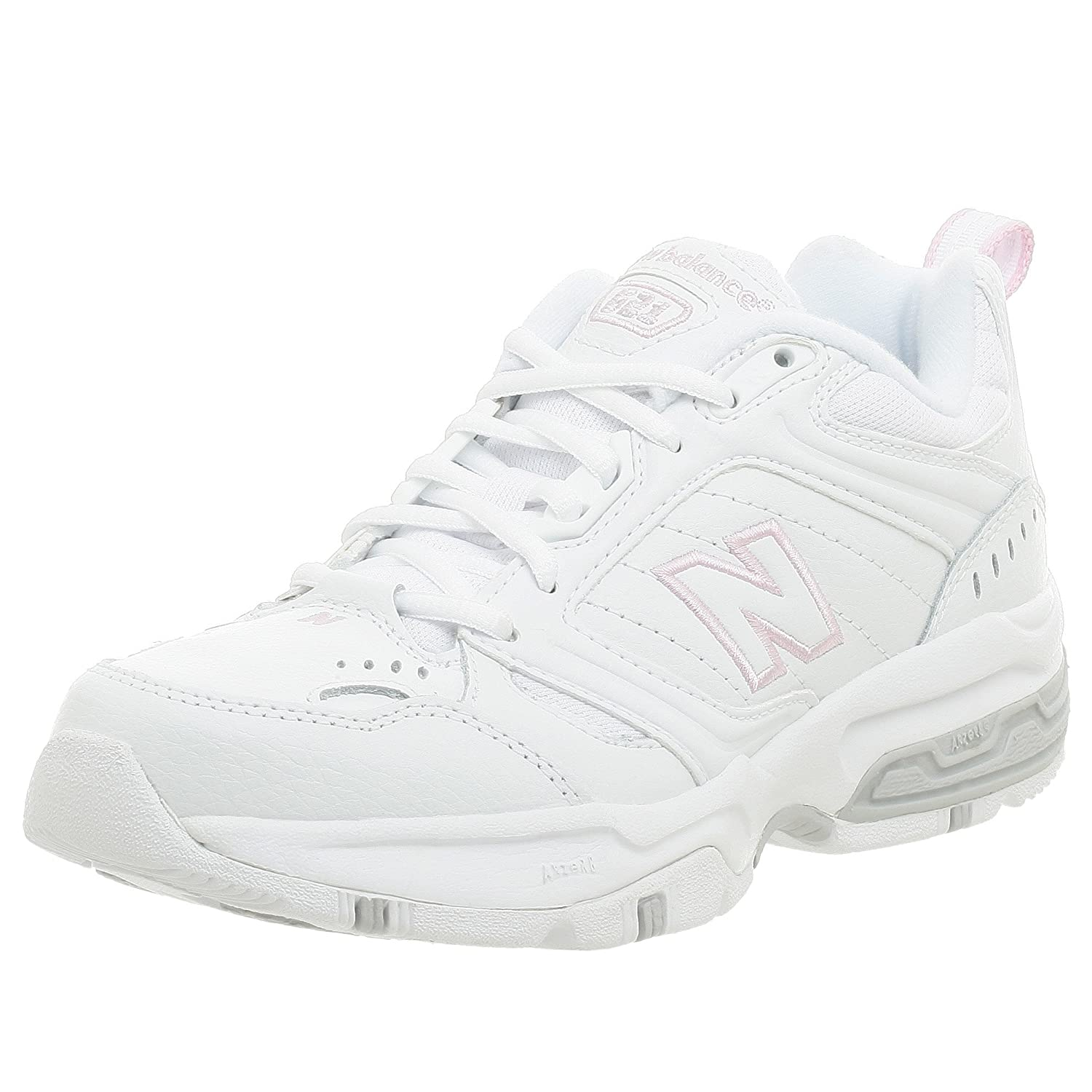 meilleure sélection 867c7 4659c New Balance 621 Womens White Narrow Leather Sneakers Shoes ...