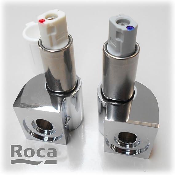 Roca AI0012400R Conjunto Bisagras cierre suave para inodoro The Gap y Meridian-N