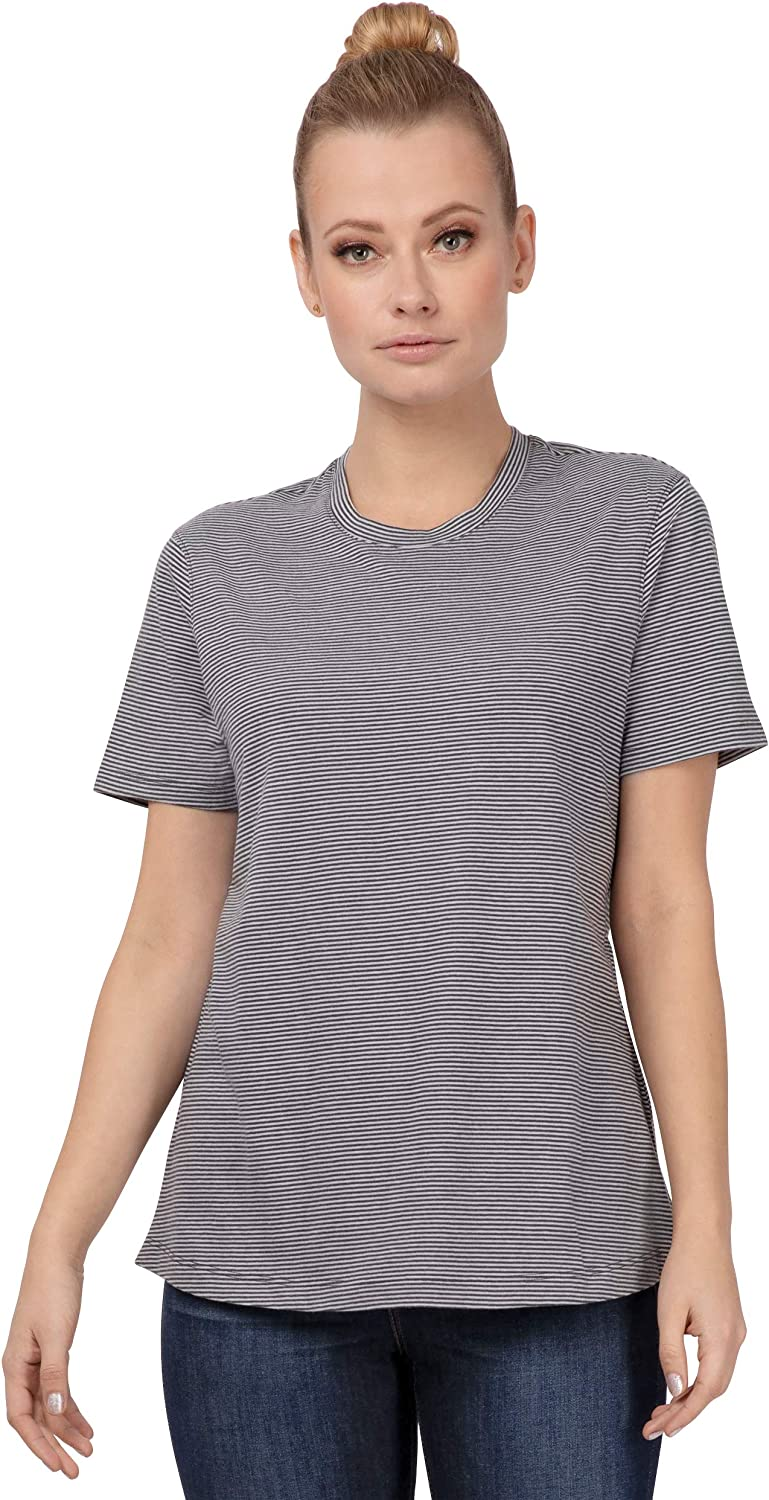 Chef Works Womens Striped T-Shirt