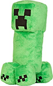 JINX Minecraft Creeper Plush Stuffed Toy (Green, 10.5