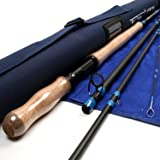 Maxcatch Spey Fly Rod 4-piece Carbon Spey Rod Fly Fishing with Cordura Tube