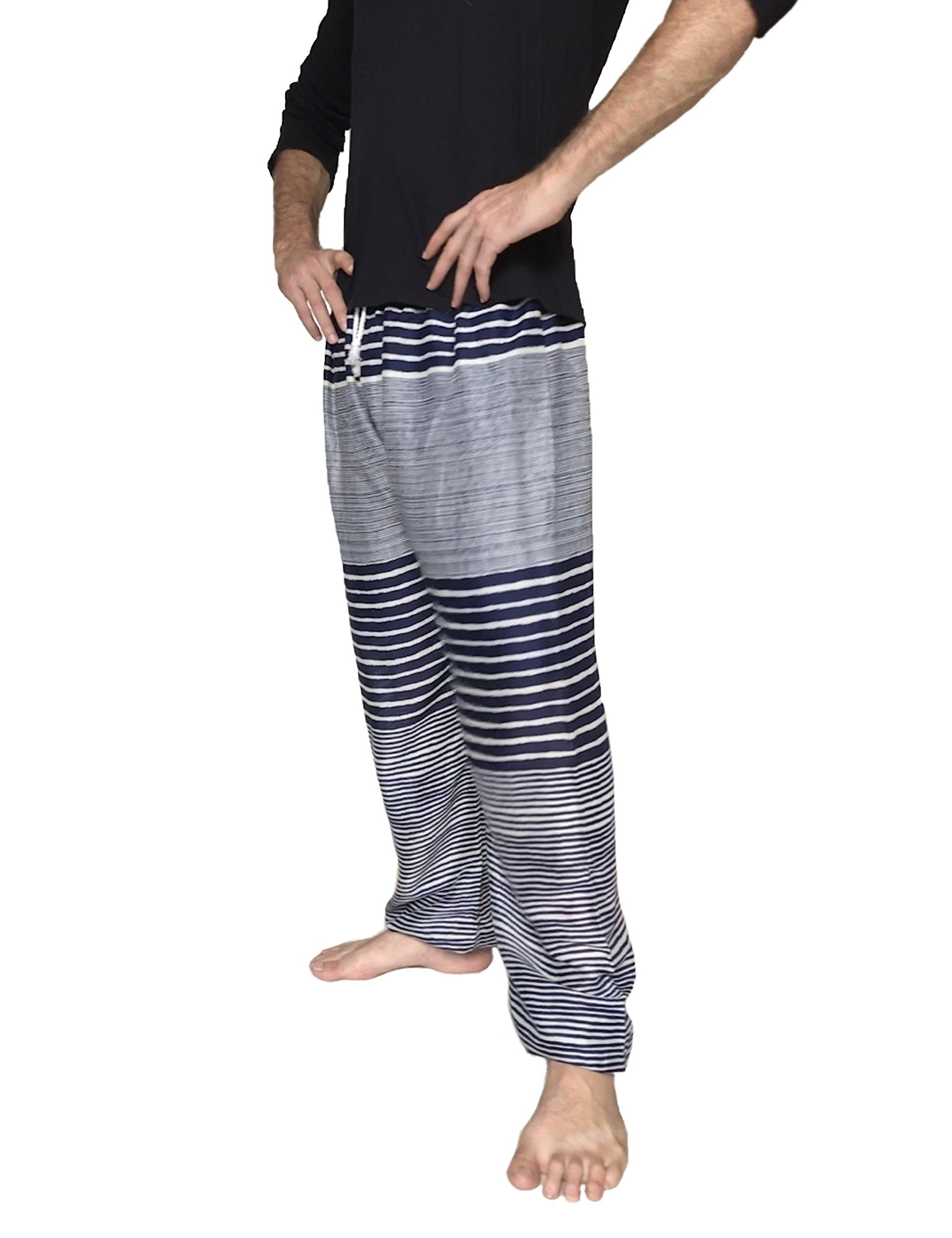 Love Quality Men's Beach Surf Pants (Blue)